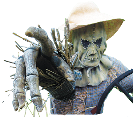 W Scarecrow pointing l